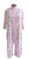 Designer Georgette Baby Pink Chikankari Long Kurti Kurta SC905 SZ 46