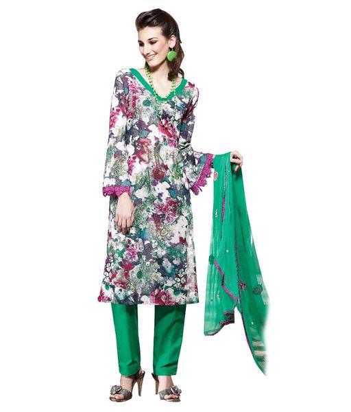 Cotton Purple Salwar Kameez Churidar Fabric SC8141B