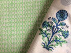 Exclusive Block Printed Kurta Palazo Pant Carrie Butti Fabric Only BP30