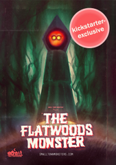 Signed Kickstarter Exclusive Variant: The Flatwoods Monster DVD