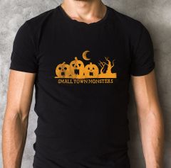Halloween Small Town Monsters Limited Edition T-Shirt