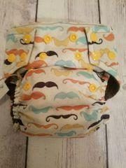 Mustache OS Pocket Diaper