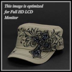 Tan Cross Cap