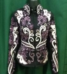 Black and Purple Show Jacket