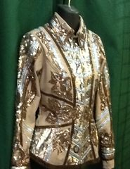 Tan Showmanship Jacket with pants