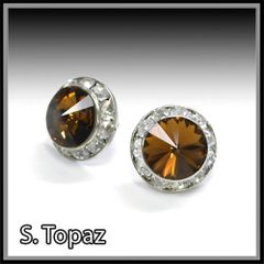 S. Topaz Crystal Earring