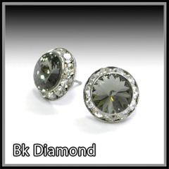 Black Diamond Crystal Earring