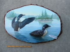 Loons (large) SOLD