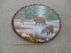 Wolves (large). SOLD