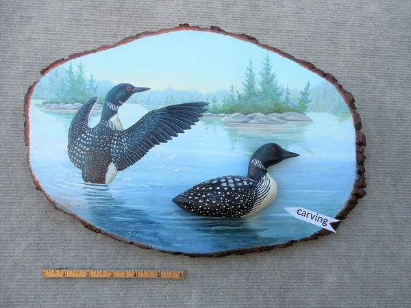 Loon (sold/med./$195