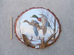 Ducks (large). SOLD