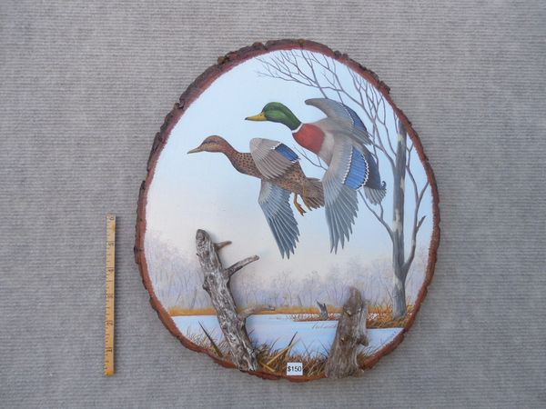 Ducks (large) SOLD