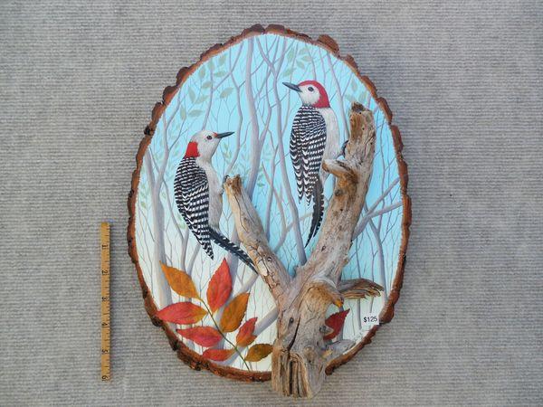 Woodpecker (sold/med./165