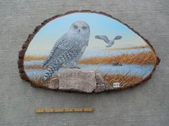 Owl (snowy) . (Large). SOLD