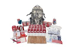 2 Person Guardian Deluxe Survival Kit in Camo Bag