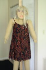 SAUSHA - IN A COOL FLORAL SUNDRESS