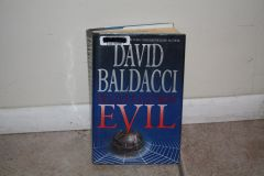 BOOK... EVIL BY DAVID BALDACCI...USED BOOK