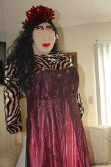 TALKING AND WALKING, TIGRESS looks like a princess. RENT HER FOR A PRINCESS PARTY for $500 per week.. If in Florida at theme park areas we will deliver. Email us to schedule at clothadultdolls@hotmail.com to rent.