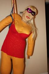 MASCOTS HAD A PJ PARTY AND TALKING AND WALKING DOLL LUCIOUS WORE A RED TEDDY. If you need a payment plan, email: clothadultdolls@hotmail.com.