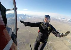 Kent Griffiths Reserved High Altitude jump on Sept 23rd, 2019