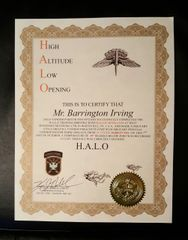 HALO Certificate Copy / Replacement
