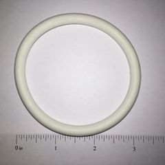 White Rubber Ring 3""