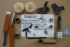 Gottlieb Flipper Rebuild Kit - Gypsy Queen 1/55 - Lariat 9/69