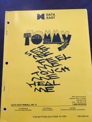 Tommy Original Manual - Very Clean
