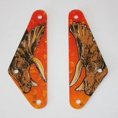 830-50XX Jurassic Park Orange Slingshot Pair