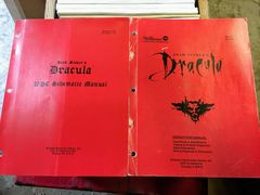 Dracula Operations Manual - Original Used