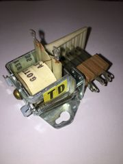 NOS Gottlieb TD Relay Unit with A-9735 Coil