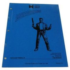 Last Action Hero NOS factory original manual. Sega part #780-5031-00.