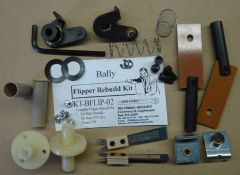 Flipper Rebuild Kit Bally2/75 - 5/75 Air Aces - Wizard BFLIP02