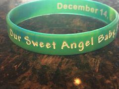 angel baby aspen bracelet