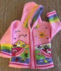 Baby or Child Alpaca Sweater