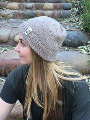 100% Alpaca Hand-Knit Hat