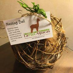 "Bird Nesting Ball, 4"""
