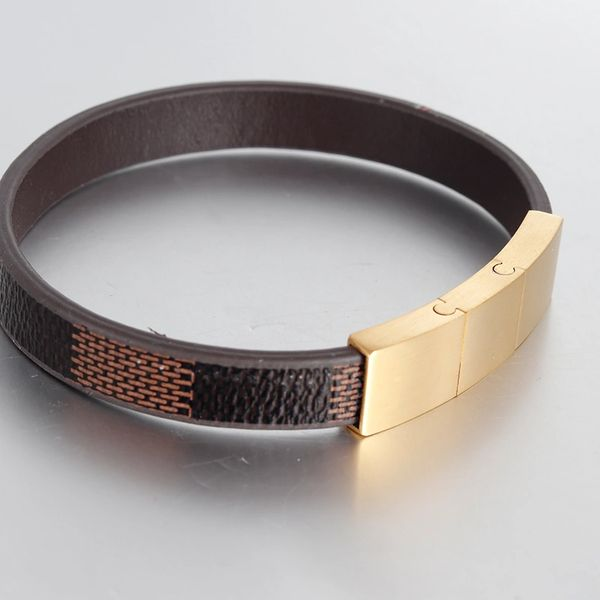 Leather fashion bangle