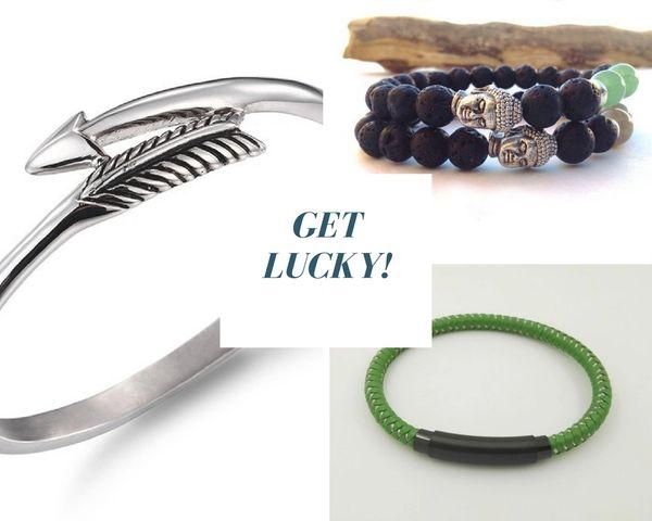 Get Lucky 3 Piece +1 bracelet set