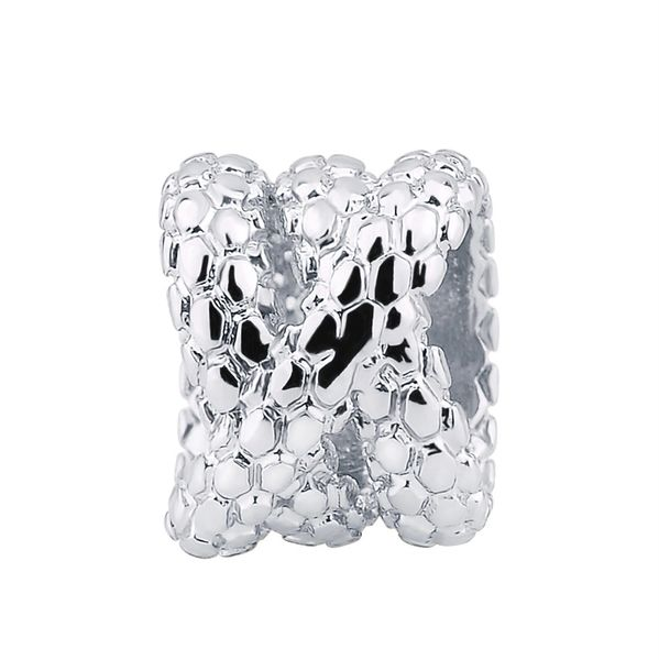 Stainless steel mesh charm