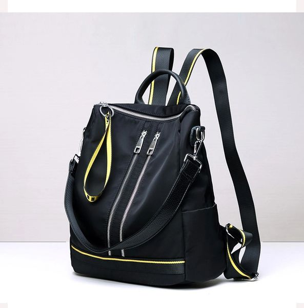Nylon shoulder bag / backpack
