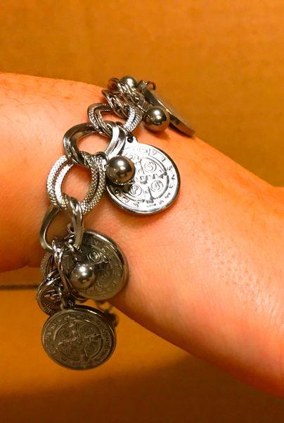 Bohemian style chain bracelet