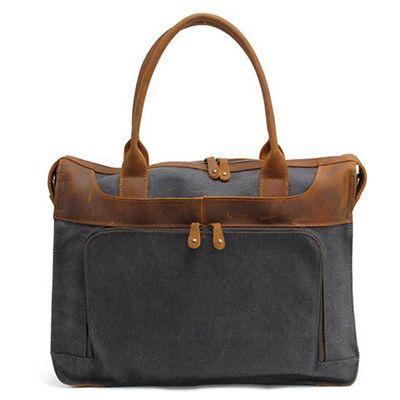 Canvas briefcase/laptop bag