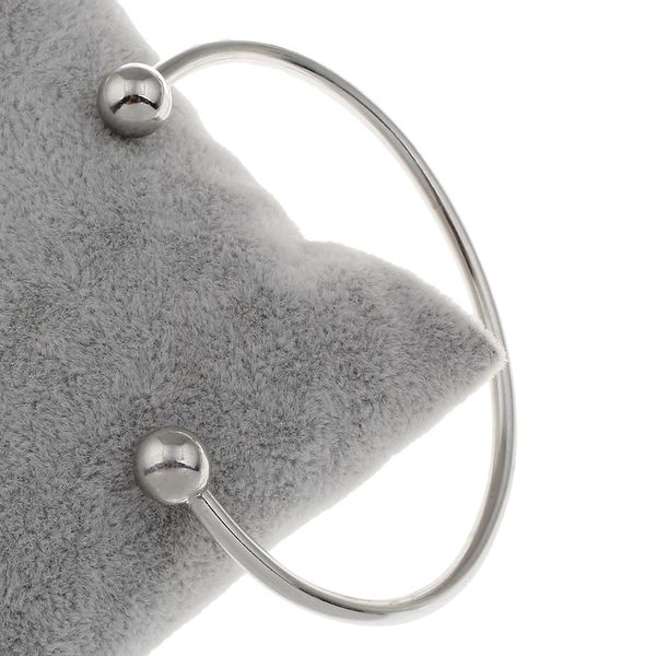Stainless steel adjustable bangle