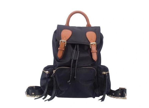 Nylon Ladies backpack