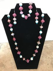 Berry Clay Bead Set - 25""