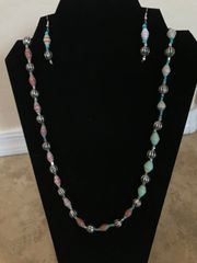 """Multi-Colored Paper Beads - 24"""""""