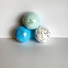 Scented Studio All-Natural Bath Bombs (3-Pack)