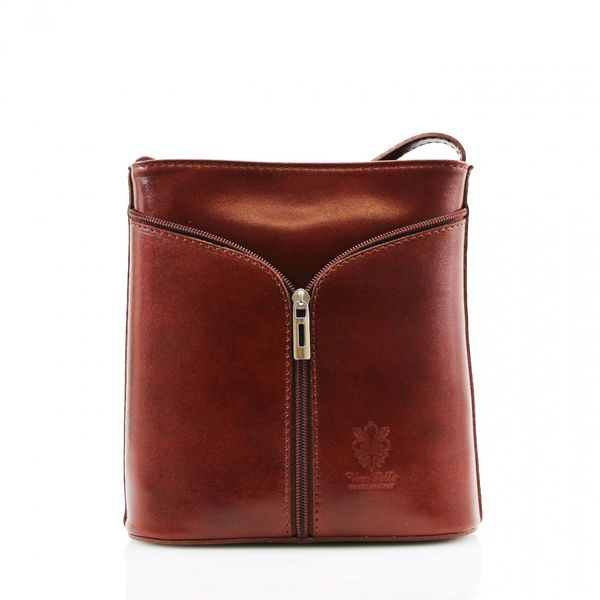 Small Cross Body Brown Leather Bag
