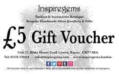 £5.00 Gift Vouchers